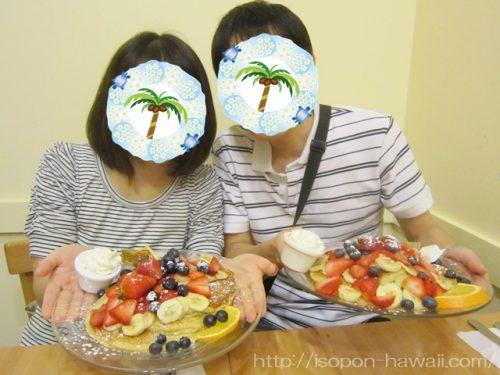カフェカイラのパンケーキ2