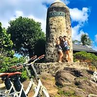Aloha e-Bicycleカイルア送迎ツアー