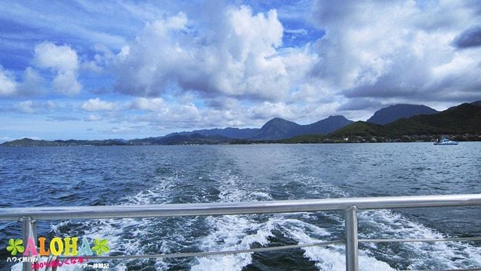 ボートの上からの画像