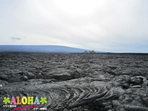 ハワイ島溶岩台地