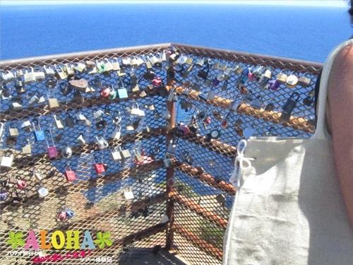 マカプウ岬ハイキングツアー_12展望台の鍵