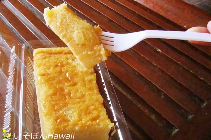 ワイキキファーマーズマーケット・ハイアットのバター餅