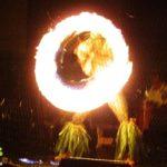 テ・モアナ・ヌイのショーの様子「ファイヤーショー」3