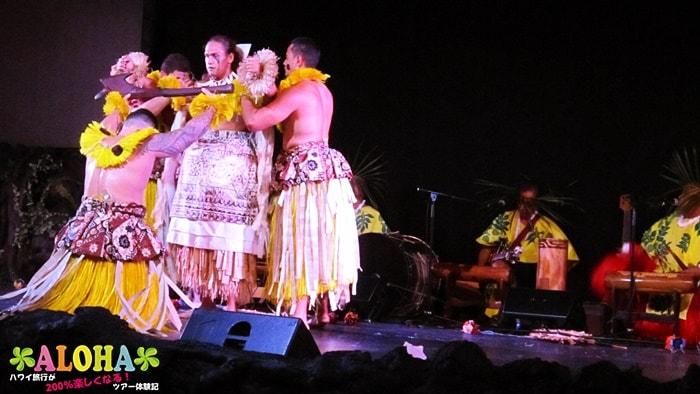 テ・モアナ・ヌイのショーの様子「衣装」