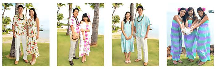 ハワイ挙式参列者イメージ