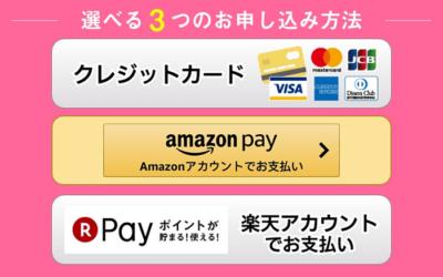 支払方法選択の画面