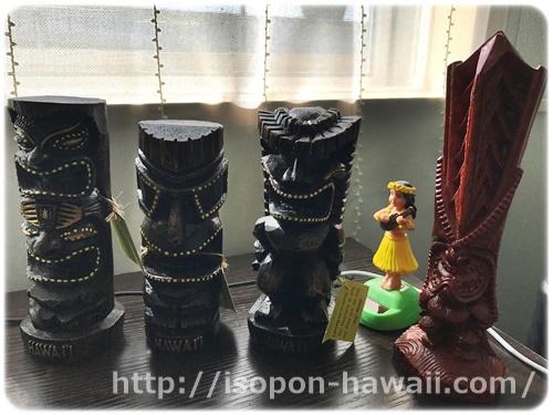 ハワイ土産ティキ像