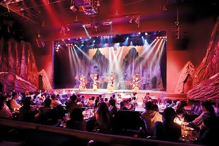 マジックオブポリネシアのステージ風景