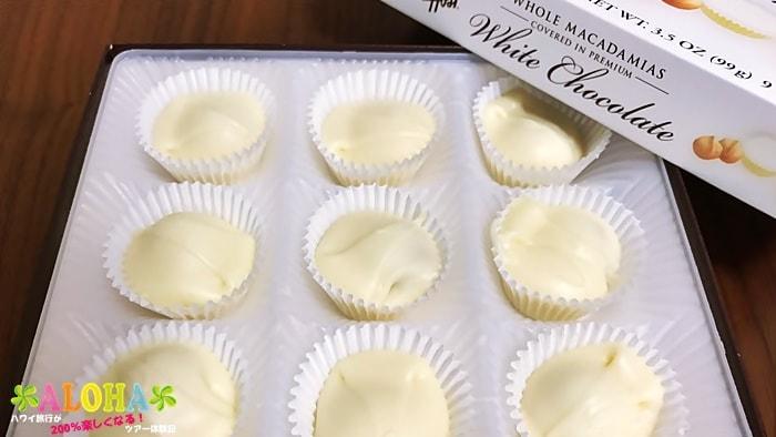 ハワイアンホーストのマカデミアナッツホワイトチョコレート