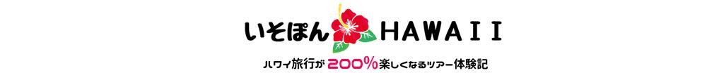 ハワイ旅行が200%楽しくなるツアー体験記ロゴPC