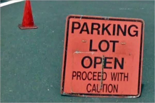 ハナウマ湾駐車場空きあり