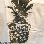 人気のパイナップルTシャツ