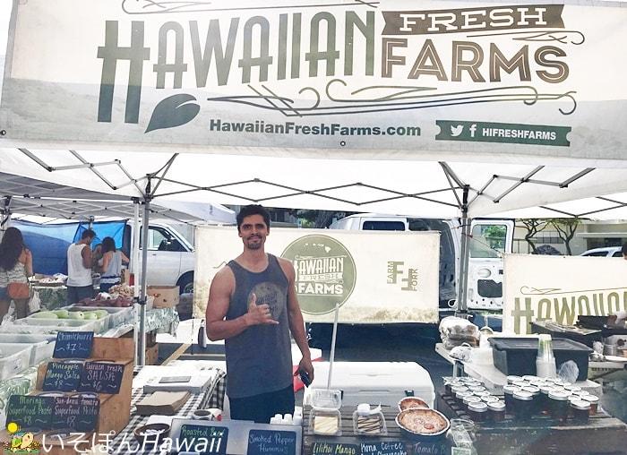 Hawaiian Fresh Farnsとアロハ