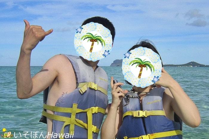 ハワイ3日目の日焼け
