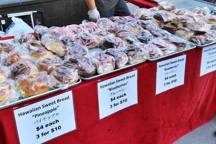 ファーマーズマーケットで人気のパン